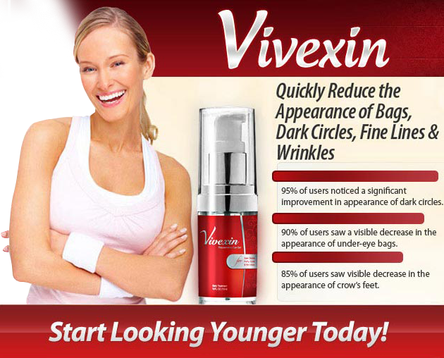 Vivexin Quickly Reduce the Appearance of Under Eye Bags