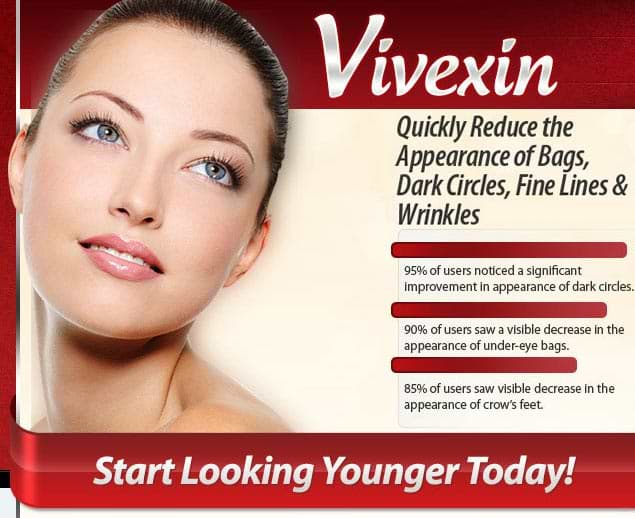 Vivexin Quickly Reduce the Appearance of Dark Circles